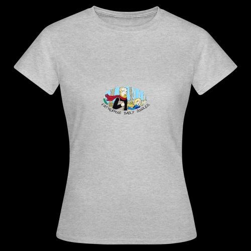 Fatherhood Badly Doodled - Women's T-Shirt