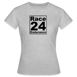 Race24 logo in black - Women's T-Shirt
