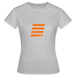 Orange Bars - Frauen T-Shirt