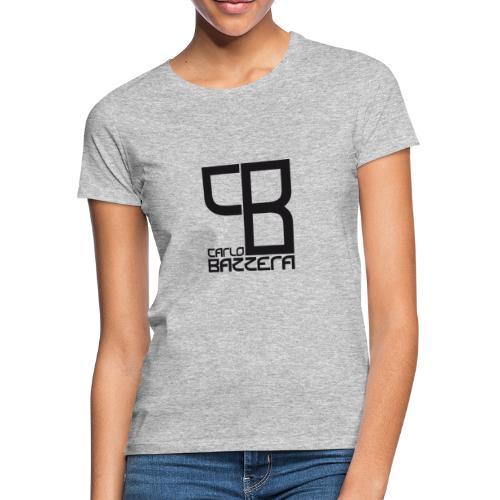 Carlo Bazzera Black on White - Women's T-Shirt