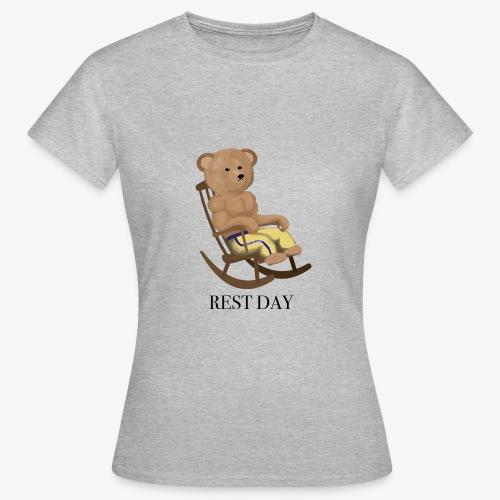 REST DAY - Naisten t-paita