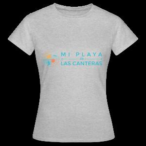 Mi playa de Las Canteras - Camiseta mujer