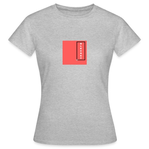 BLECRET - Salmon - Women's T-Shirt
