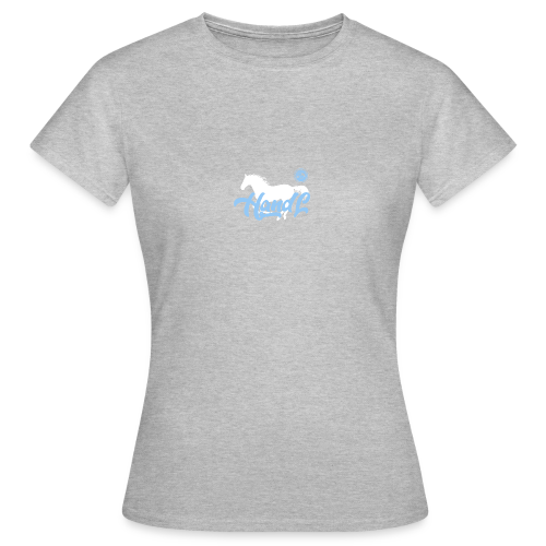 H&l denim Simple Horse - T-shirt Femme