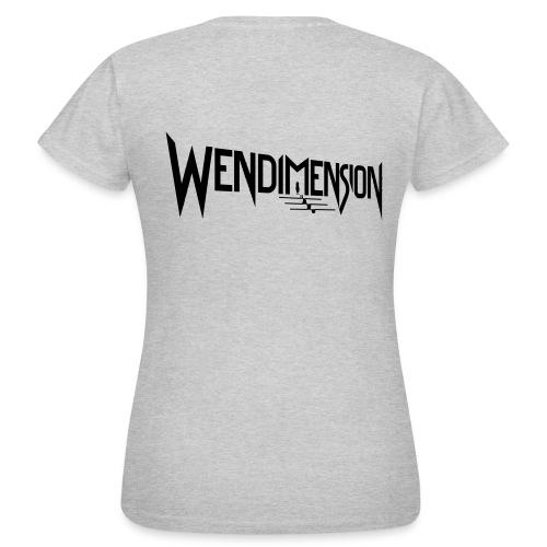 wendimension logo - Naisten t-paita