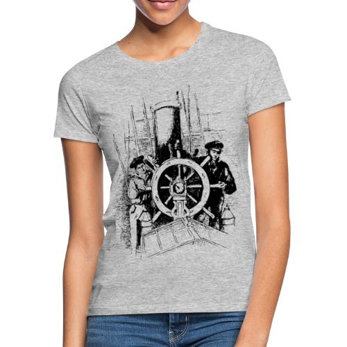 sailors at the helm - Women's T-Shirt