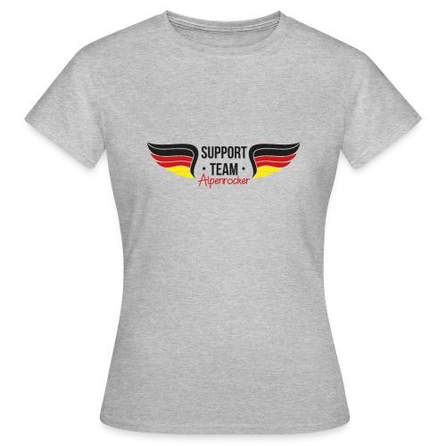 Support team Alpenrocker Andreas fanshirt - Frauen T-Shirt
