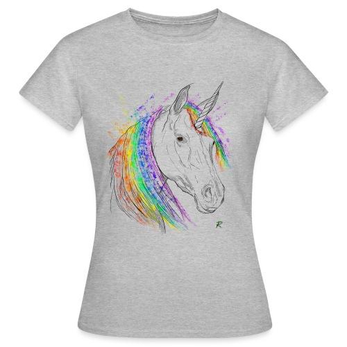 Unicorno - Maglietta da donna