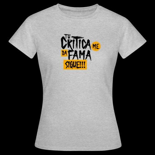 CRITICA - Camiseta mujer