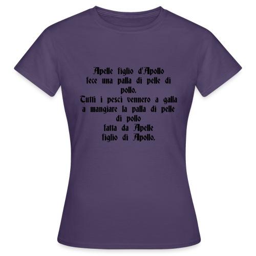Sciogli Lingua Maglietta Uomo Donna Divertente - Maglietta da donna
