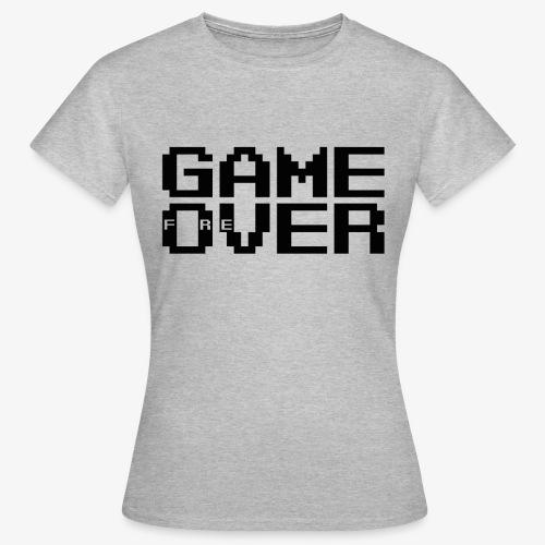 GAME fOreVER 2lines L FREtrans - Women's T-Shirt