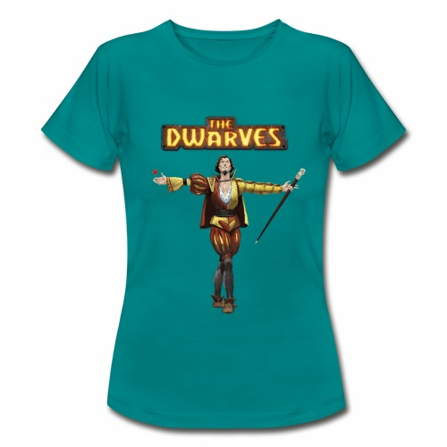 rodario_withdwarveslogo - Women's T-Shirt