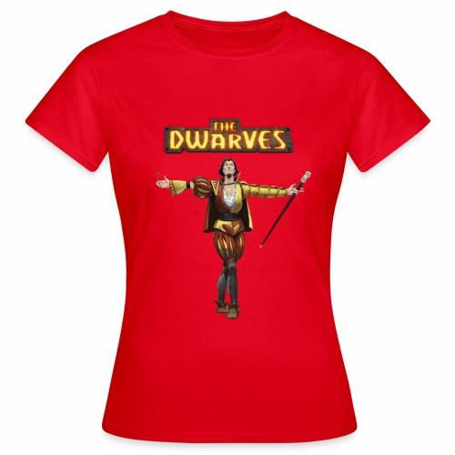 rodario_withdwarveslogo - Women's T-Shirt