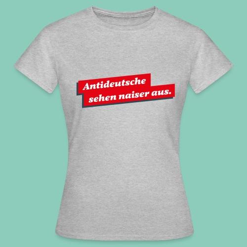antideutsche png - Frauen T-Shirt