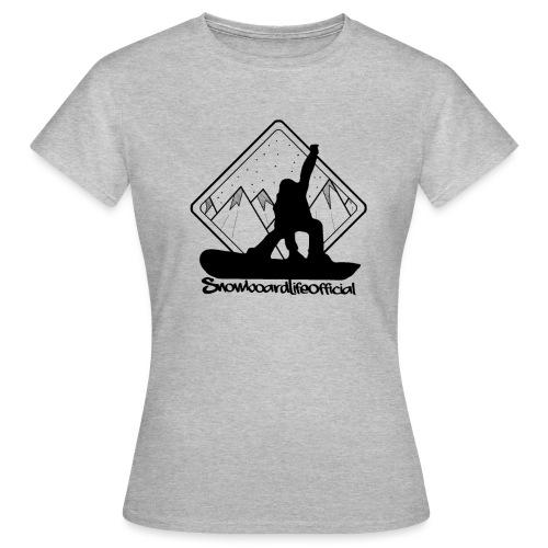 snowboardlife - Maglietta da donna