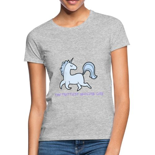 Das hübscheste Einhorn Mädchen - Frauen T-Shirt