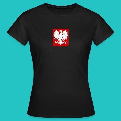 Koszulka z godłem Polski - Koszulka damska