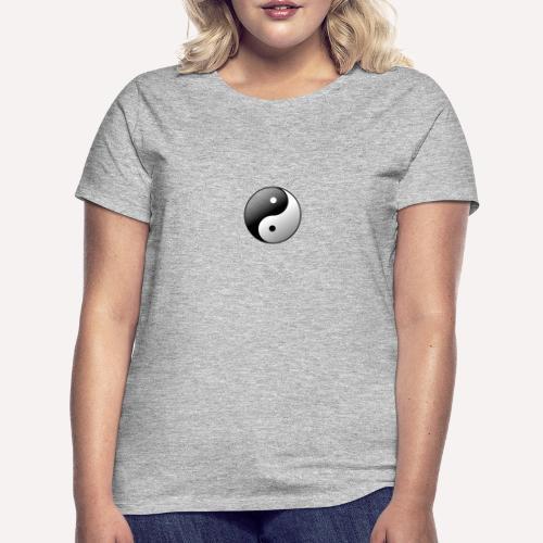 Yin Yang Symbol balance Print Sign - Women's T-Shirt