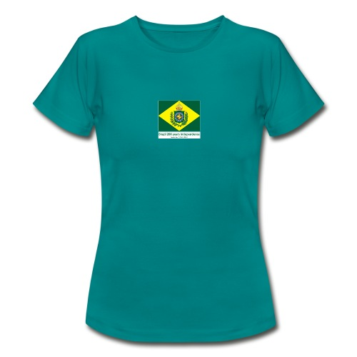 Brazil 200 years independence - T-skjorte for kvinner
