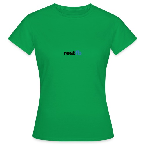 RestFB logo black - Women's T-Shirt