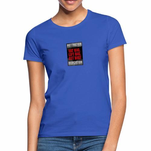 Motivation gym - T-shirt dam
