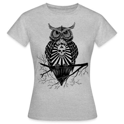 Hibou Psychédélique - T-shirt Femme