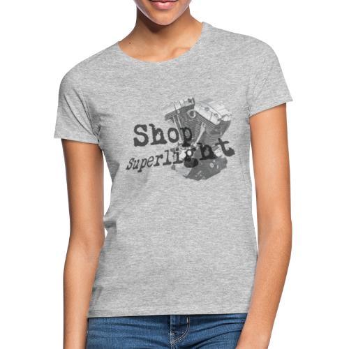 ShopSuperlight Logo stor - Dame-T-shirt