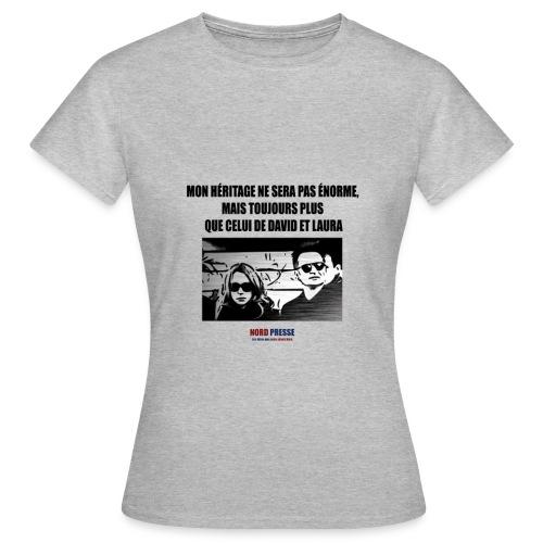 T shirt David et Laura - T-shirt Femme