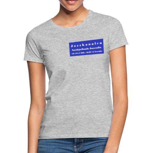 Nordsjællands Jazzradio - Dame-T-shirt