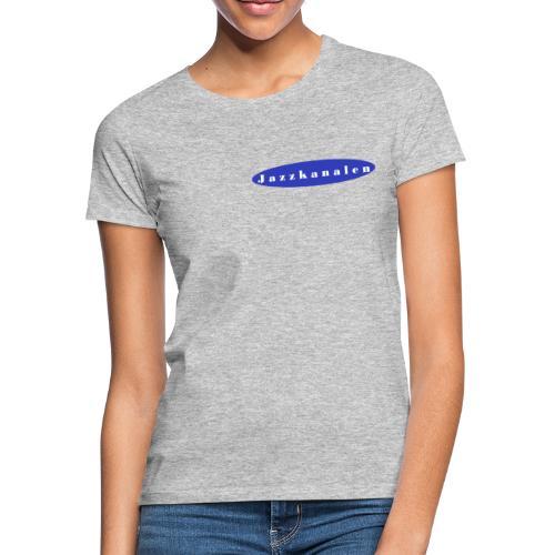 Den blå kanal - Dame-T-shirt
