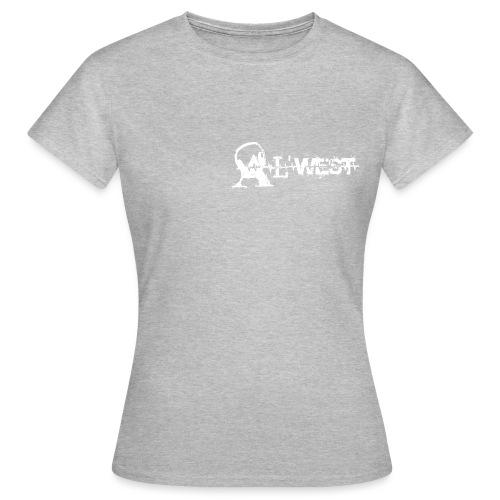 logo alwest blanc - T-shirt Femme