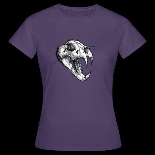 Teschio Tigre - Maglietta da donna