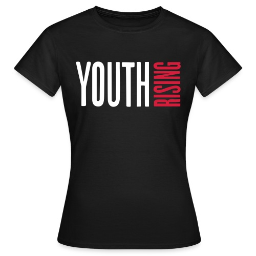 1br rev youth rising white - Women's T-Shirt