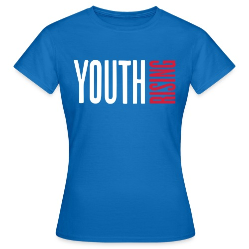 1br rev youth rising white - Women's T-Shirt