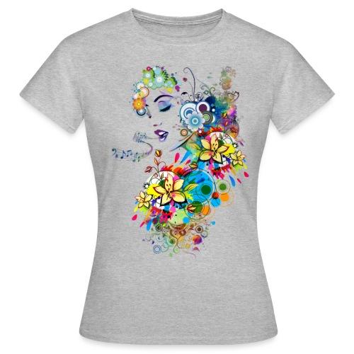 Lady singer - T-shirt Femme