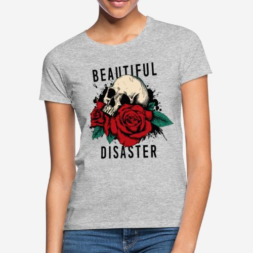 Schädelrosen - Frauen T-Shirt