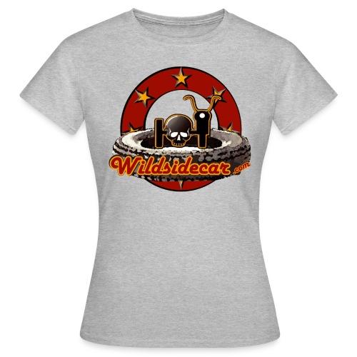 logo wildsidecar 60s gif - T-shirt Femme