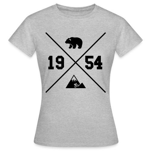 Karhuvuori -baseballhuppari - Naisten t-paita