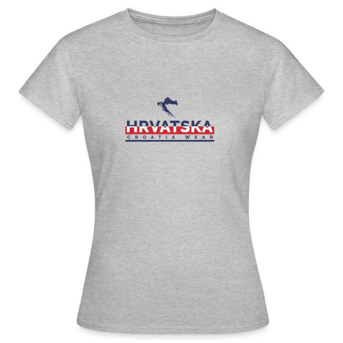 HRVATSKA X CROATIA WEAR - Women's T-Shirt