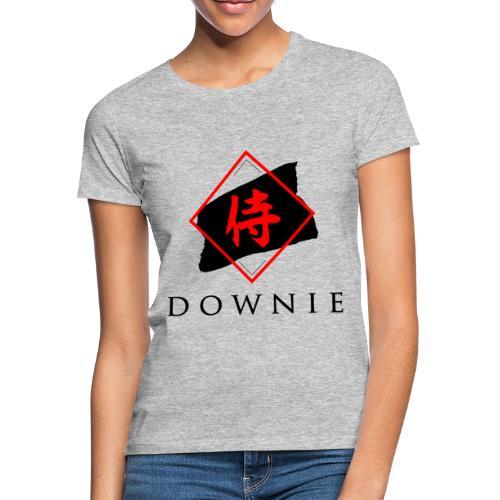 Logo mit Schrift - Frauen T-Shirt