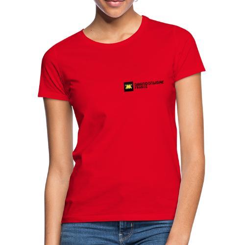 Logo Abandonware france - T-shirt Femme