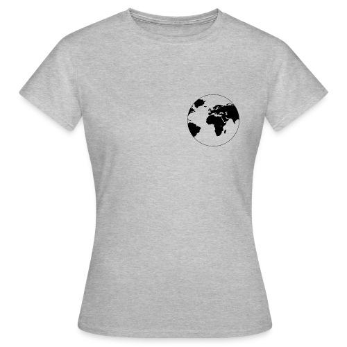 Cooles Design Erde - Frauen T-Shirt