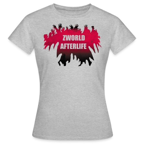 logo rouge blanc tshirt png - T-shirt Femme