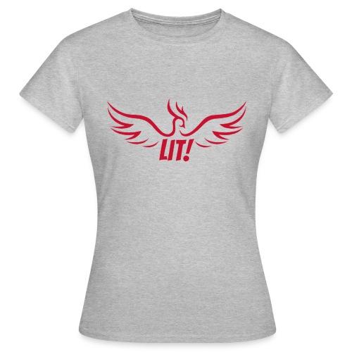 Lit-Shirt - Frauen T-Shirt