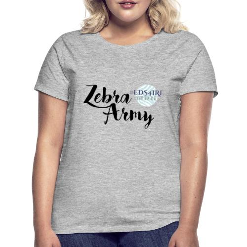 Zebra Army (black) - Women's T-Shirt