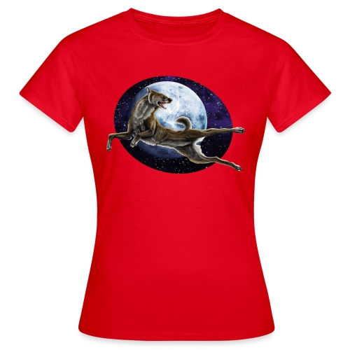 Galaxy Wolf - Frauen T-Shirt