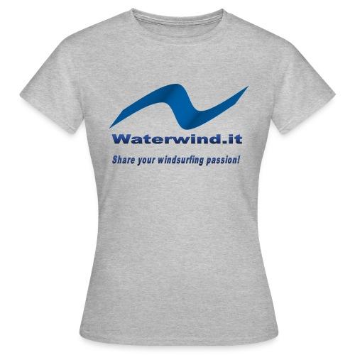 logo waterwind lycra magliette no sfondo png - Women's T-Shirt