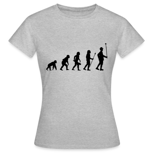 Stabführer Evolution - Frauen T-Shirt