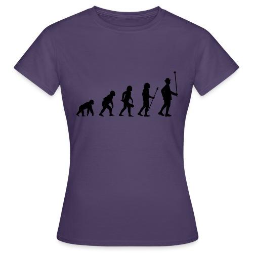 Stabführer Evolution - Frauen T-Shirt