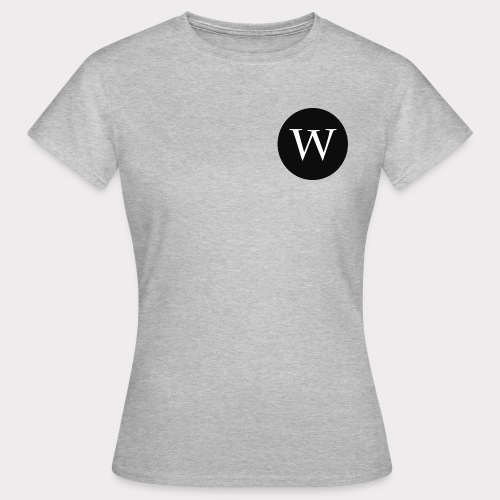 WHITE W CIRCLE - Women's T-Shirt